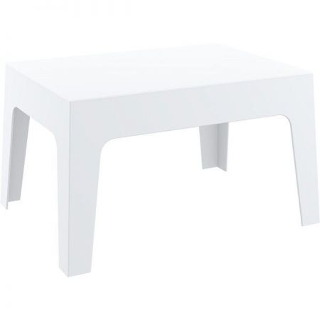Table basse blanche Aéro