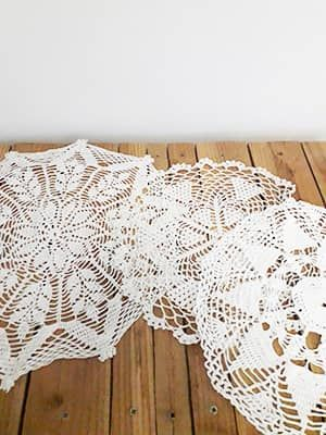 Napperons crochet